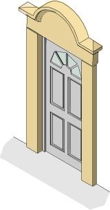 GRC Lightweight Door Surround
